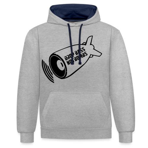 DBNB Black - Contrast hoodie