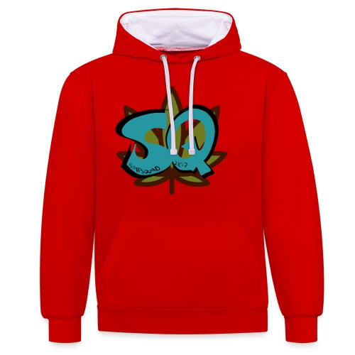 29F6CAFB 2D17 468A 8517 FC013A374BFB - Contrast hoodie