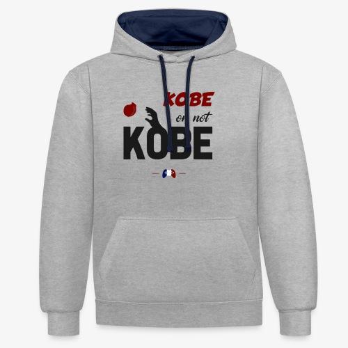 Kobe or not Kobe - Sweat-shirt contraste