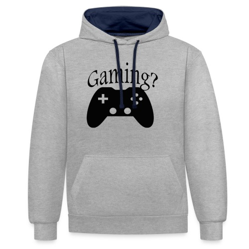 Gaming - Sweat-shirt contraste
