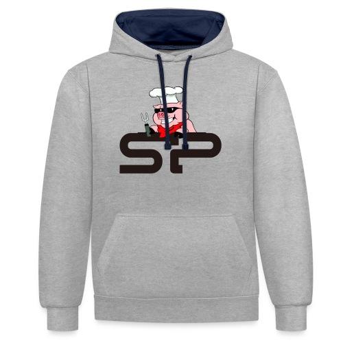 Strangepig's first logo - Kontrast-hettegenser