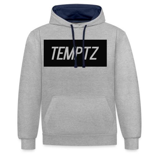 TempTz Orignial Hoodie Design - Contrast Colour Hoodie