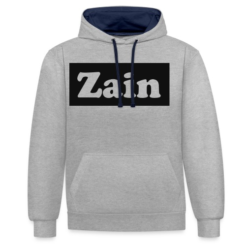 Zain Clothing Line - Contrast Colour Hoodie