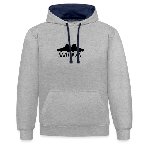 design_boothead - Contrast Colour Hoodie