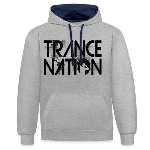 Trance Nation (Black) - Kontrastluvtröja