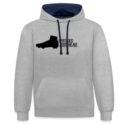 Certified Boothead - Contrast Colour Hoodie