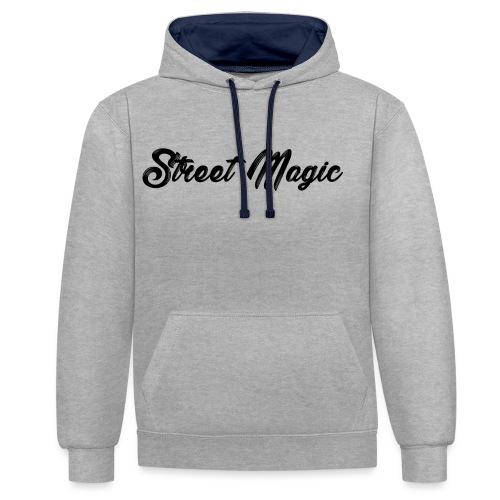 StreetMagic - Contrast Colour Hoodie