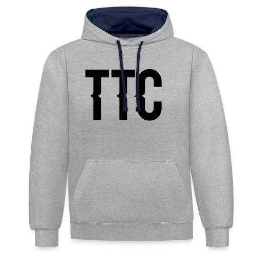 TTC Space - Contrast Colour Hoodie