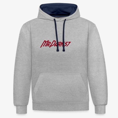 MrDark57 - Sweat-shirt contraste