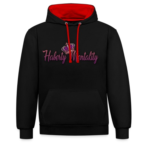 Haberty Mentality - Sweat-shirt contraste