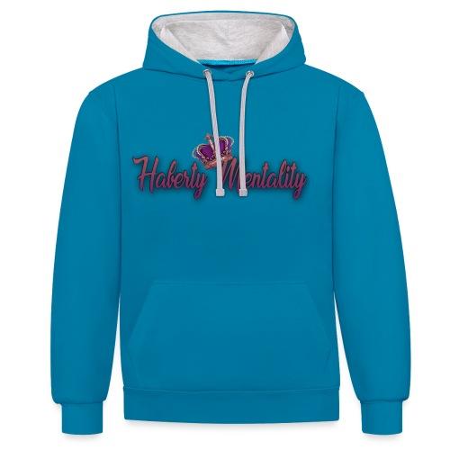 Haberty Mentality - Sweat-shirt contraste