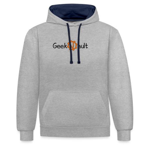Geek Vault Tee - Contrast Colour Hoodie