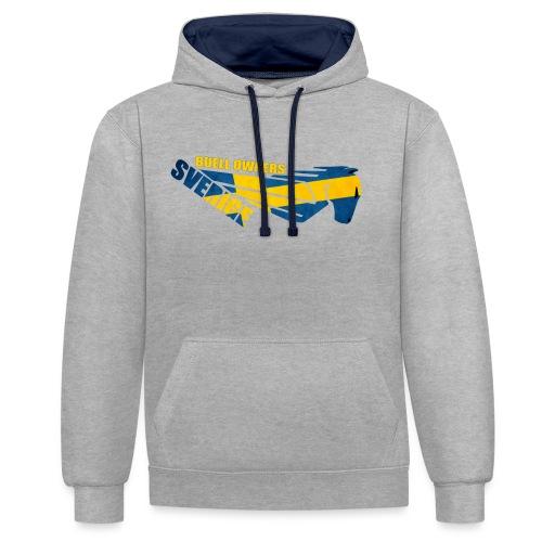 Buell Owners Sverige - Kontrastluvtröja
