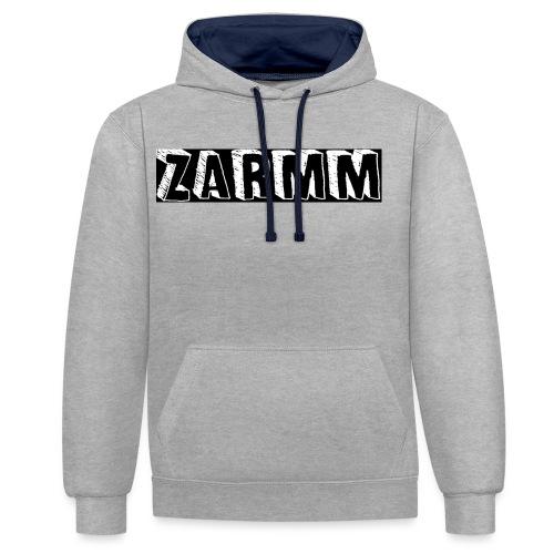 Zarmm collection - Sweat-shirt contraste