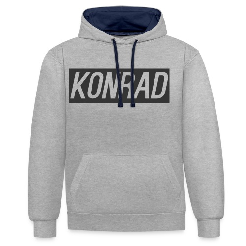 logo for merch - Contrast Colour Hoodie