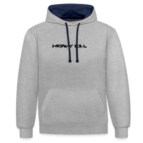 HEAVY KILL MODEL 2 - Contrast hoodie