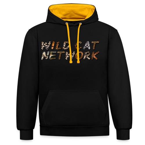 WildCatNetwork 1 - Contrast Colour Hoodie