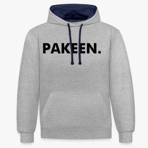 Pak Een Punt Horizontaal - Contrast hoodie