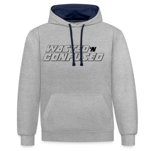 OFFICIAL WNC MERCHANDISE (wit) - Contrast hoodie