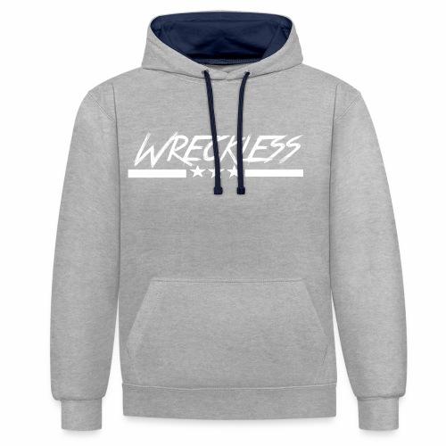 Wreckless crew - Kontrast-hettegenser