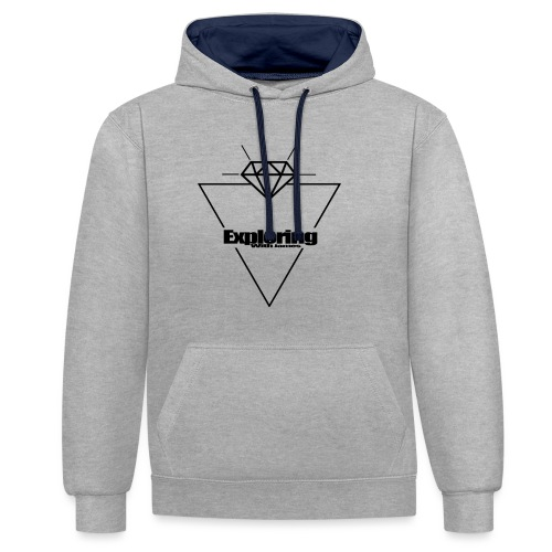 ExploringWithJamesClothing - Contrast Colour Hoodie