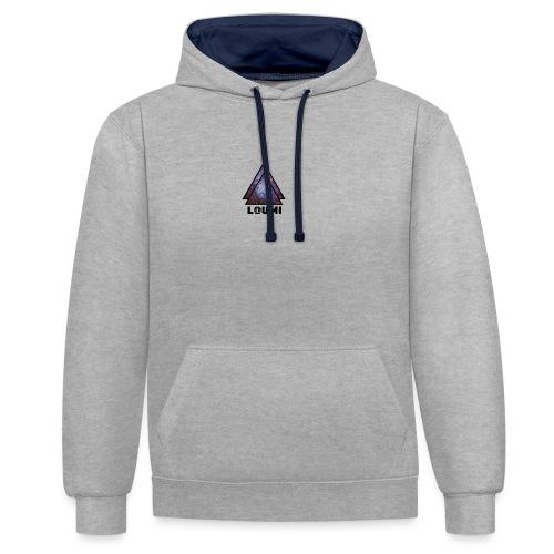 galaxy LOUMI series - Contrast hoodie