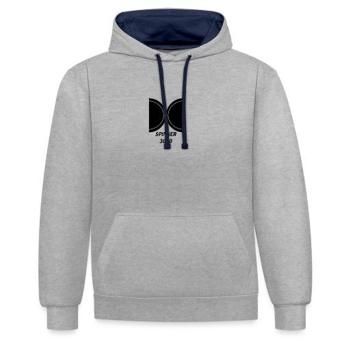 Dark logo - Sweat-shirt contraste