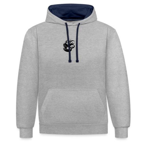 gekke aap - Contrast hoodie