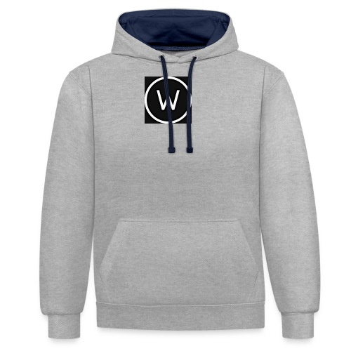 Waggy2709hd Logo - Contrast Colour Hoodie