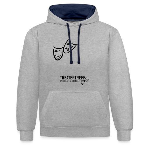 logo_tt - Kontrast-Hoodie