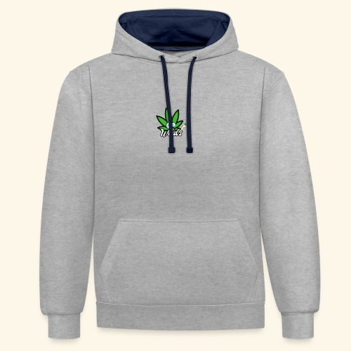 Weed's - Sweat-shirt contraste