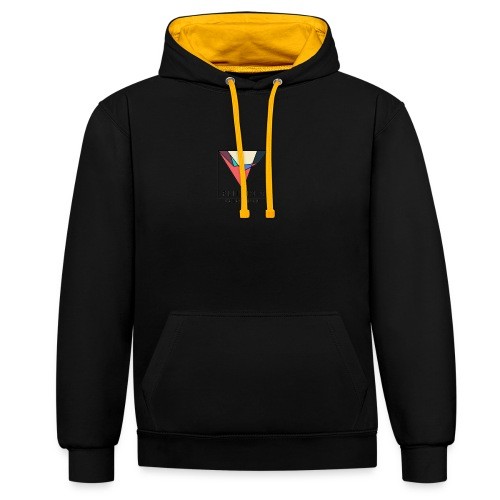 Official Flip Side logo - Contrast Colour Hoodie