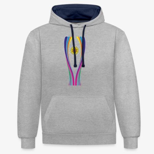 SOLRAC World Cup - Sudadera con capucha en contraste