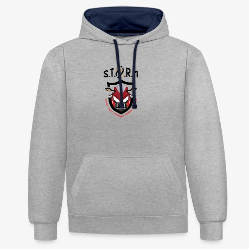 Stolen Theft Offended Robbed Mugged - Contrast Colour Hoodie