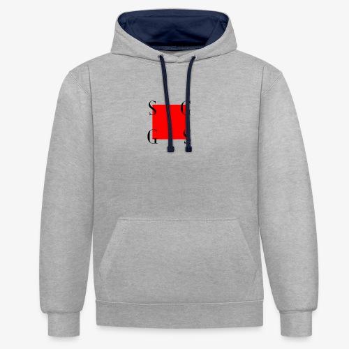 Modern Mag - Contrast hoodie