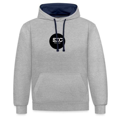Plain SXC Original - Contrast Colour Hoodie