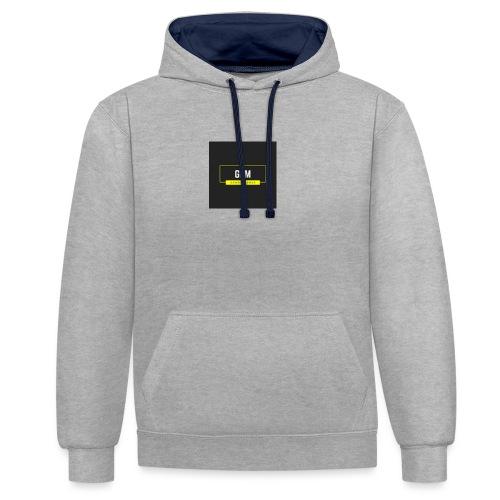 GewoonDeMax - Contrast hoodie