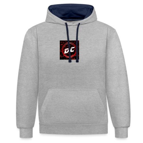 den clan - Contrast hoodie