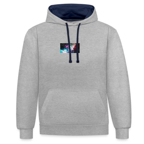 galaxy lux - Contrast Colour Hoodie