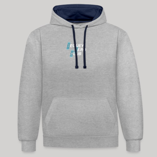 logo 2018 clair - Sweat-shirt contraste