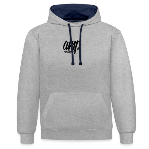 amp clothing - Contrast Colour Hoodie