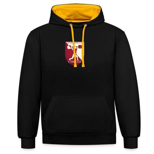 Oldschool Logo - Contrast hoodie