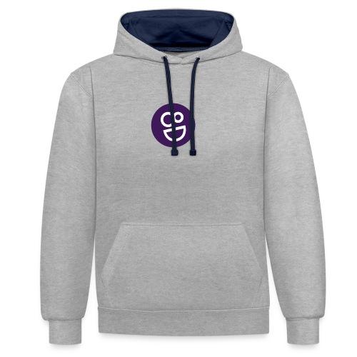 logo 8d - Contrast hoodie