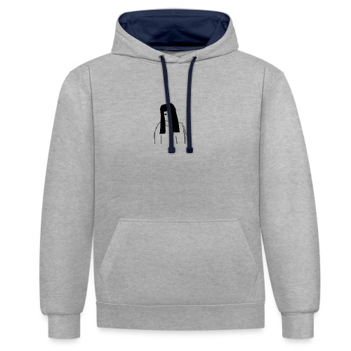 Girl - Contrast Colour Hoodie