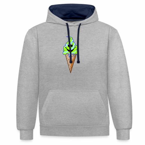 Mr./ Ms. Mint - Contrast hoodie