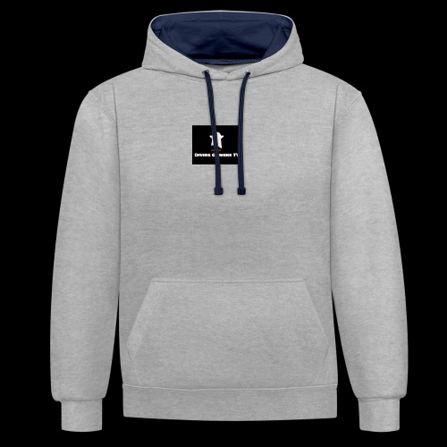 Ghost Gamer - Contrast Colour Hoodie
