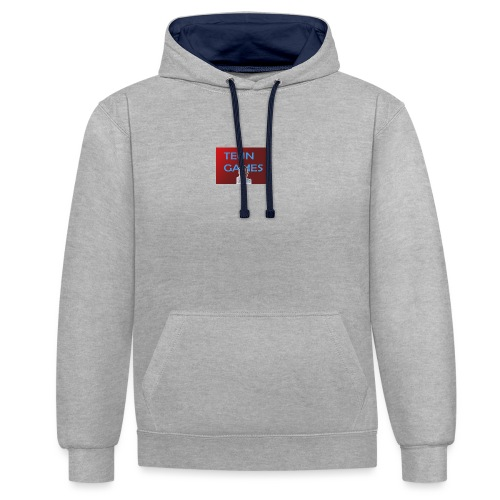 TeunGames foto - Contrast hoodie