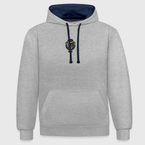 Arcticus logo - Contrast Colour Hoodie