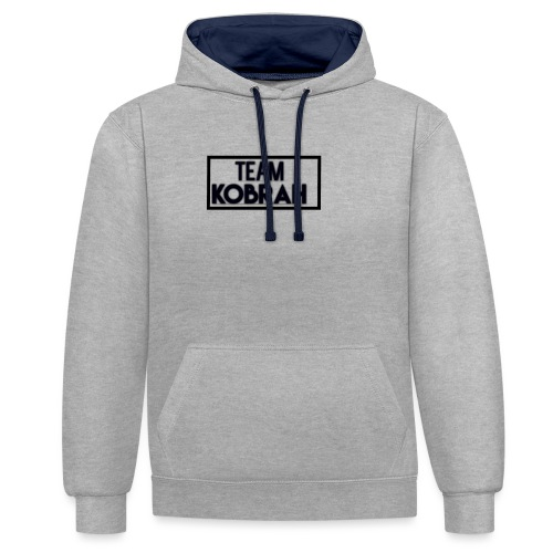 Team Kobrah - Contrast Colour Hoodie