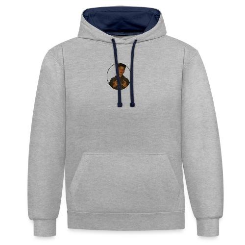 HetIsRoy - Contrast hoodie